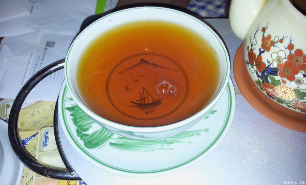Reisschale Als Teeschale verwendet