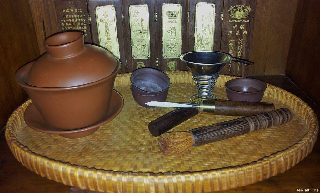 nützliche Helfer Bei Der Zubereitung Und meinem Genuss Von Shou Und Assam