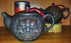 Löwenorakel Oolong-Teekännchen