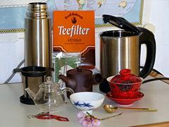 Tee im Büro