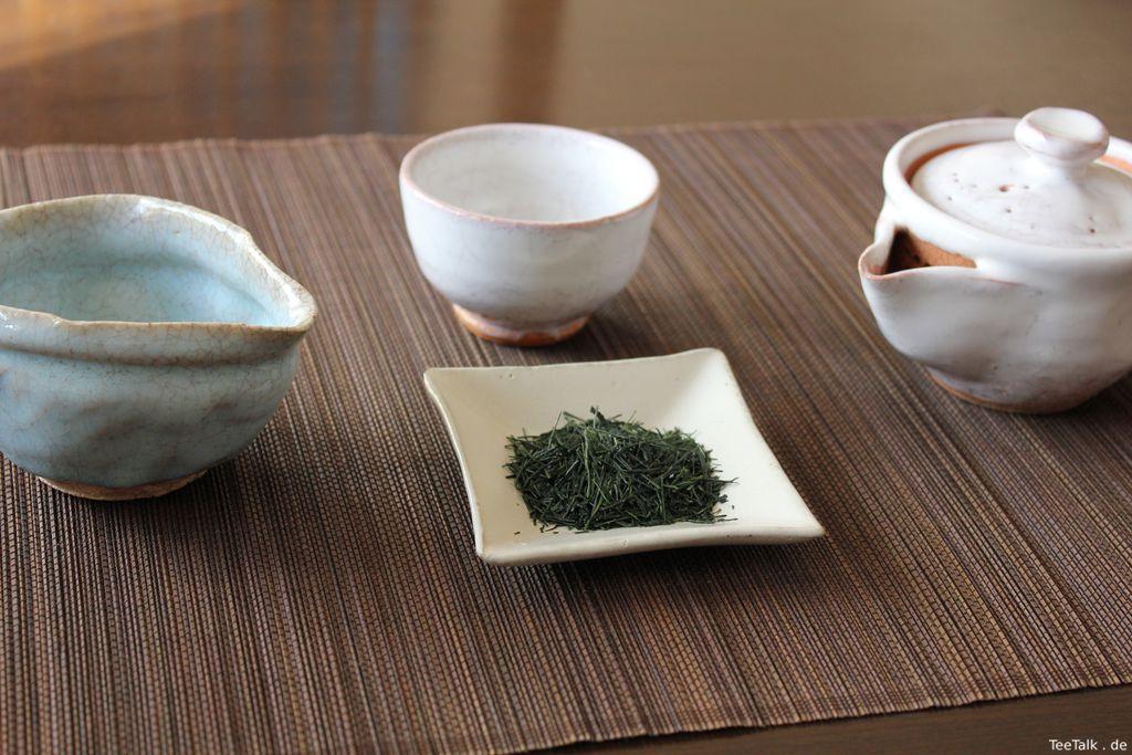 Yame Gyokuro Kyoku Kiwami × Hagi-yaki