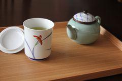 Sencha Asahi von Ryūōen × Arita Porzellan