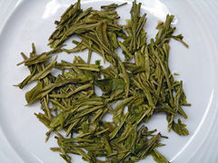 China White Anji, aufgegossenen Blätter