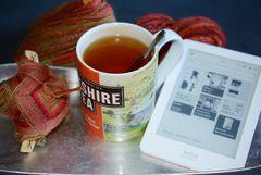 Tee, Spinnen und Lesen
