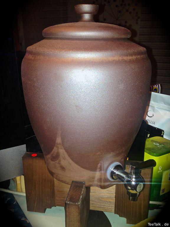 Wasser Purion-Ton Urne