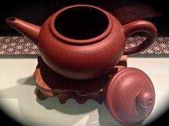 Yixing Teapot Di Cao Qing Shui Ping offen (135ml)