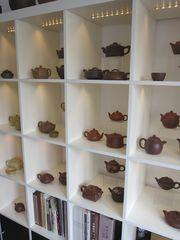 Teekannen im Chá-Dào