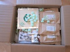 Karton von Tee Kontor Kiel