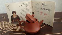Julunzhu shaped from Zhuni clay by Yan Liping 100ml