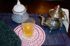 Marokkanischer Minztee im Fleur de Piment