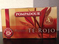 Té Rojo (roter Tee) von Pompadour (Pu Erh Tee)