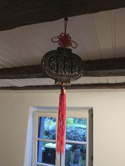 Gepresster Pu-Erh-Tee als Dekoration