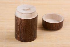 Teedose aus Paulownia-Holz