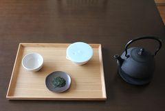 Uji Saikō-kyū Shincha × Arita Porcelain Lab Hōhin & Maruo-yaki
