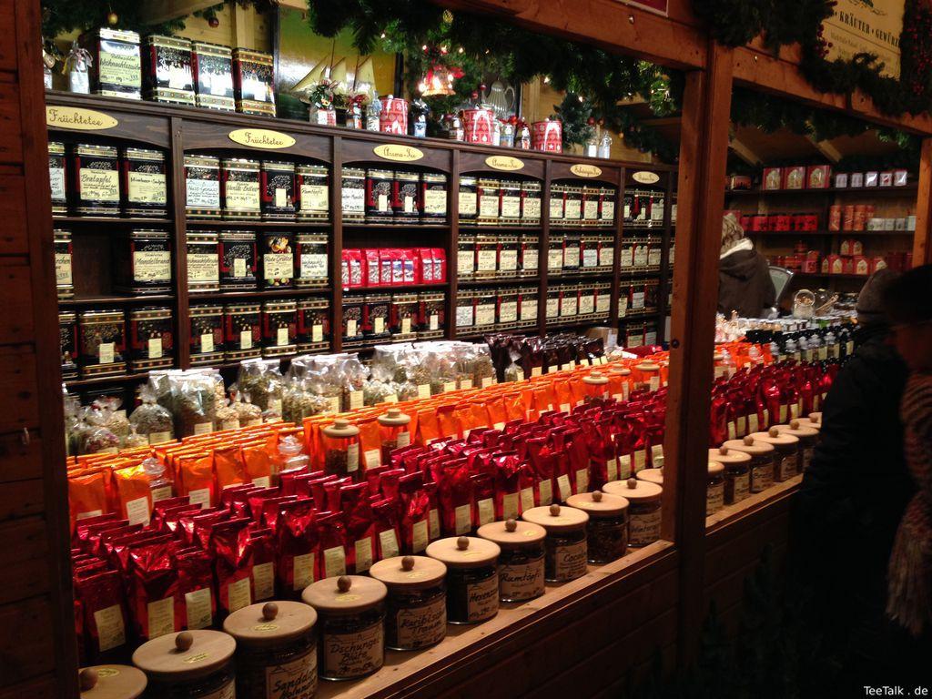 Tee & Mehr auf dem Weihnachtsmarkt Kassel
