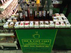 Tee & Café Cult bei der Frühjahrs-Ausstellung in Kassel