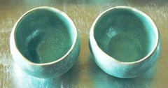 Seladon-Teeschalen