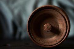Teedose, der Deckel