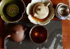 Chinesischer Tee - Teil des Alltagslebens