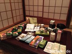 Tee und Utensilien aus Kyoto