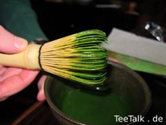 Matcha Zubereitung - Koicha