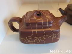 Quadratische Teekanne