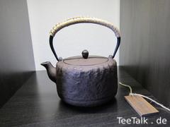 Teekanne - Gusseisenkanne
