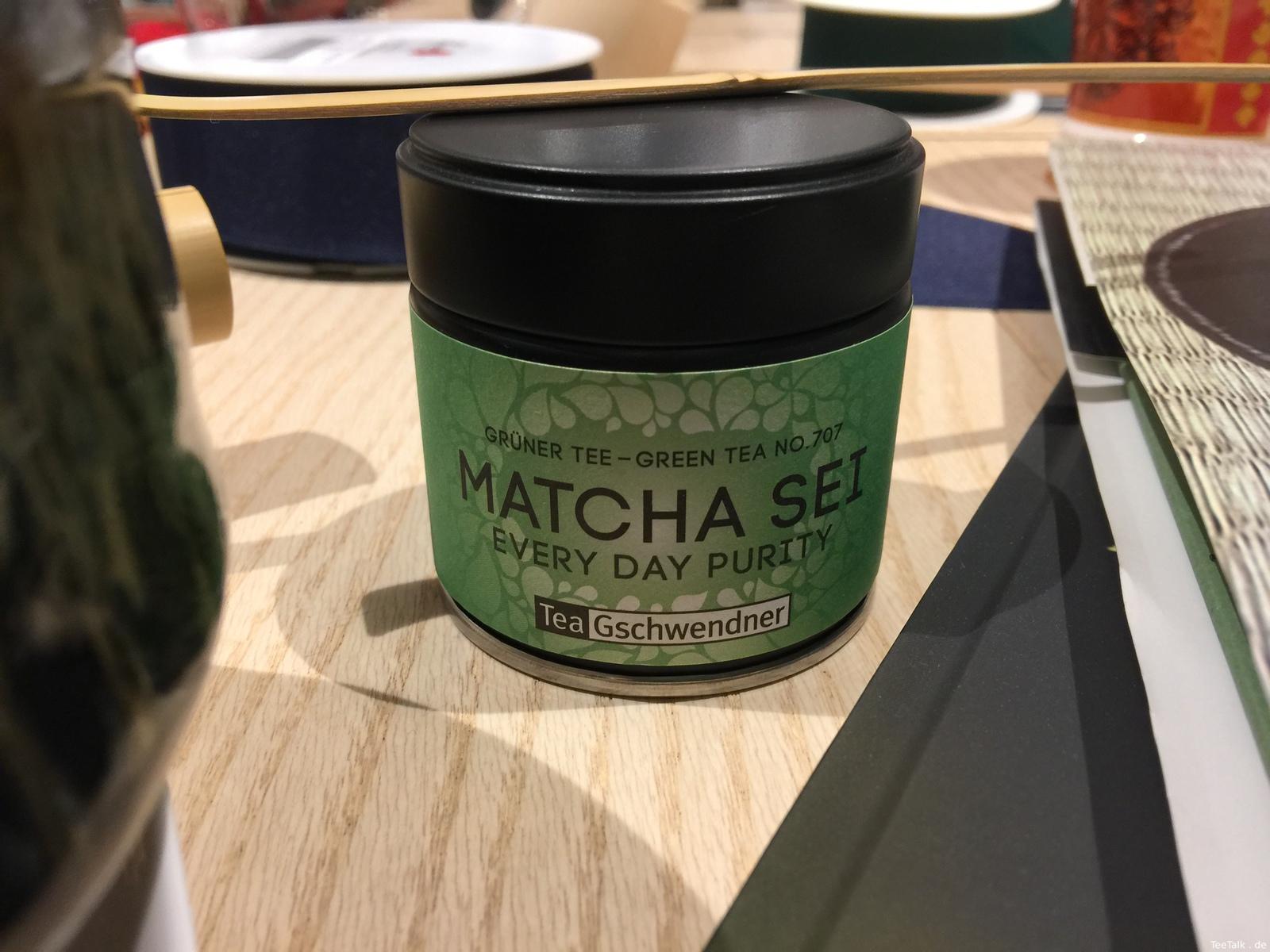 Matcha bei TeeGschwendner