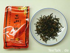 Premium Organic WuYi Lapsang Souchong Zheng Shan Xiao Zhong Black Tea Easy Bag