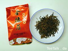 Supreme Organic Wuyi Golden Bud Jin Jun Mei Golden Eyebrow Black Tea