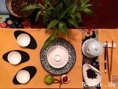 Einfaches Tee Setting mit Gaiwan