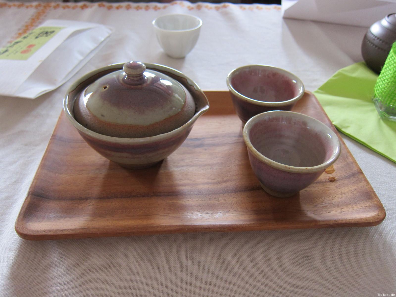 Gaiwan-Set auf der Teezui 4