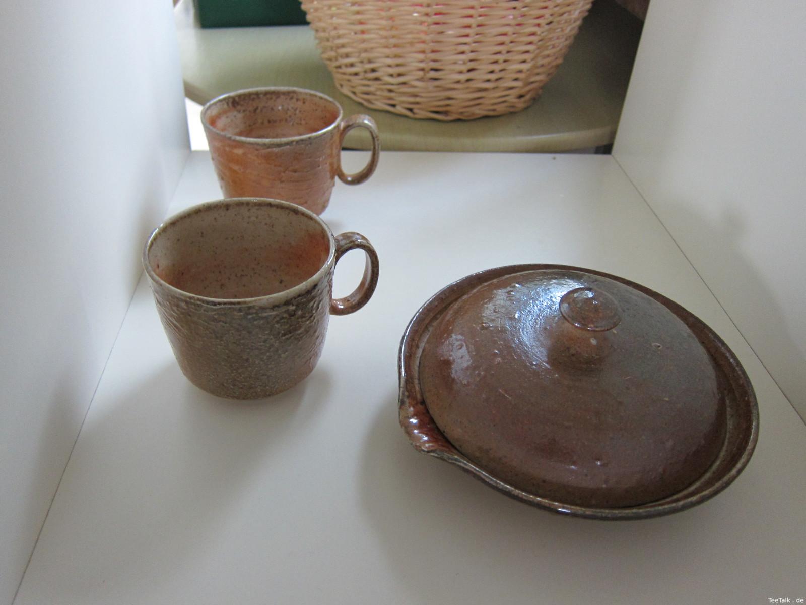Teekeramiken auf der Teezui 4