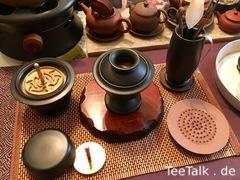 Kōdo Ritual schwarze Keramik