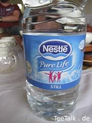 Wasser zur Teezubereitung auf der Teezui 4