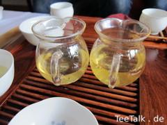 Pitcher mit Tee auf der Teezui 4