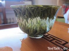 Glas-Gaiwan mit Tee auf der Teezui 4
