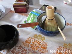 Matchazubereitung auf der Teezui 4