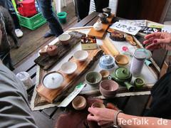 Tee-Tauschbörse auf der Teezui 4