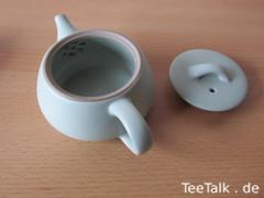 Teekännchen Sieb