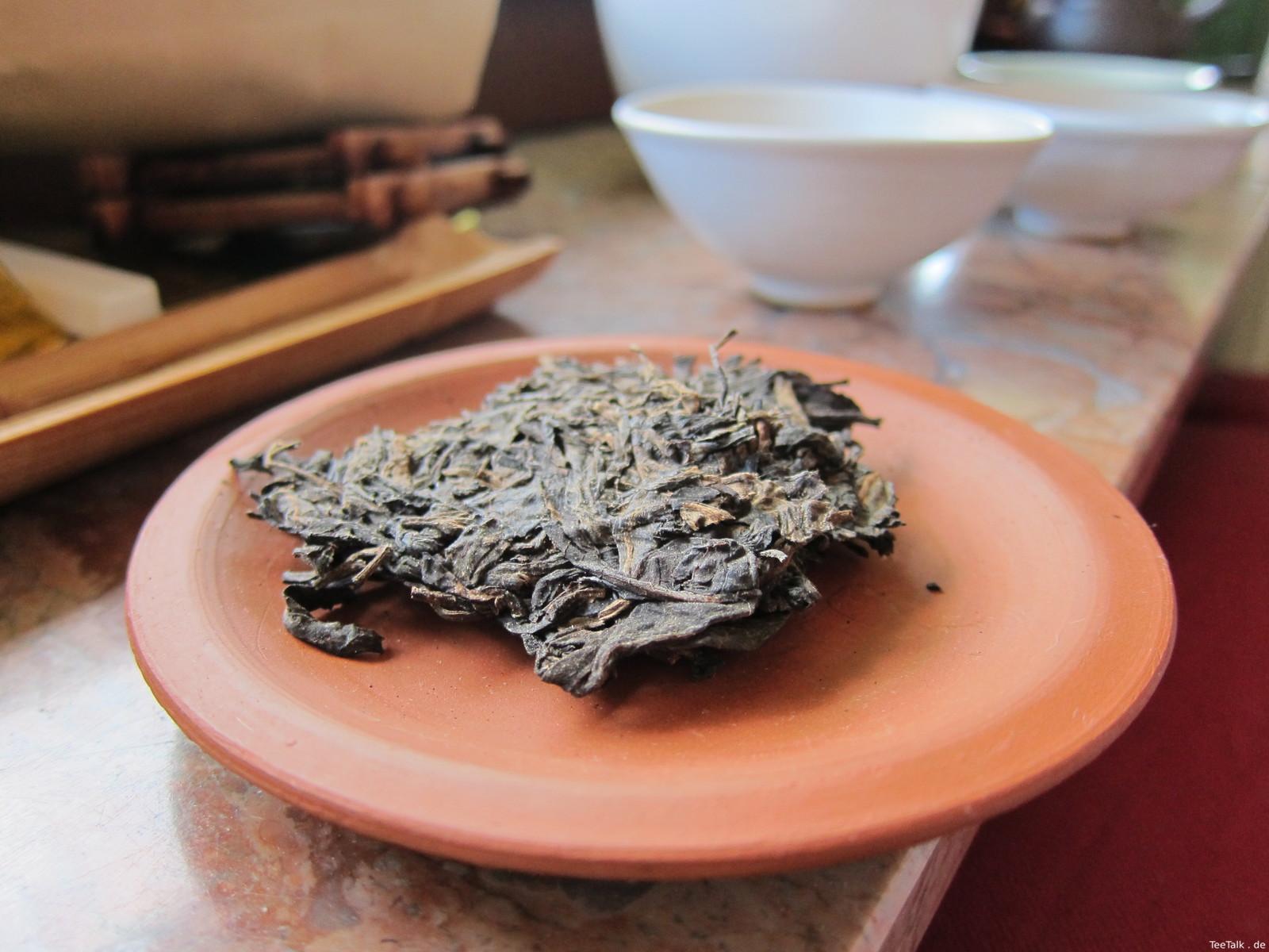 Pu Erh auf der Teezui 4