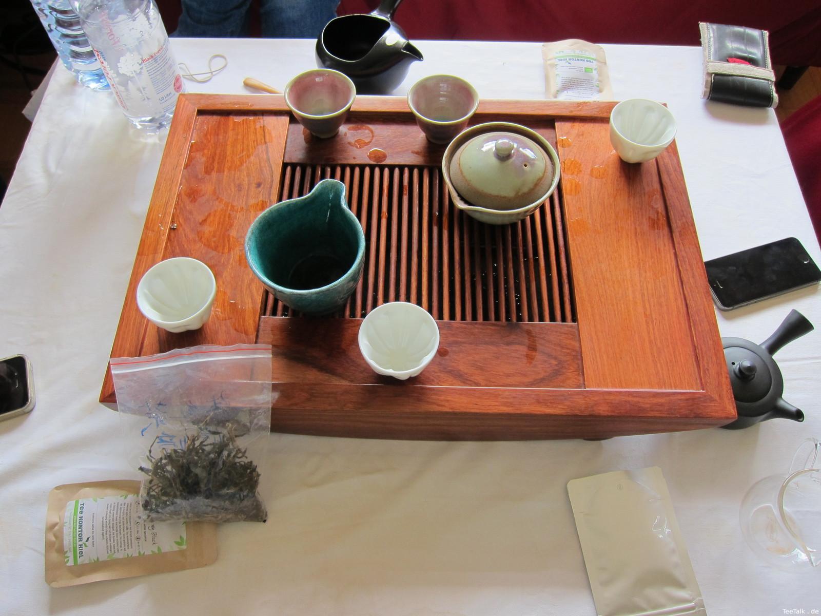 Teetisch auf der Teezui 4