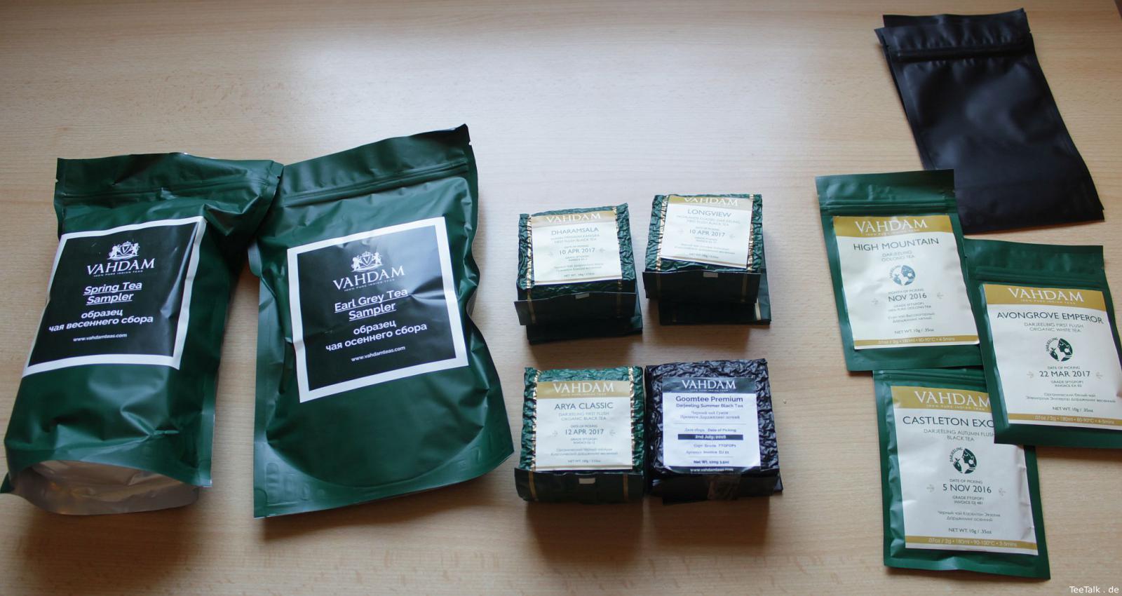 Lieferung von Vadham Tea