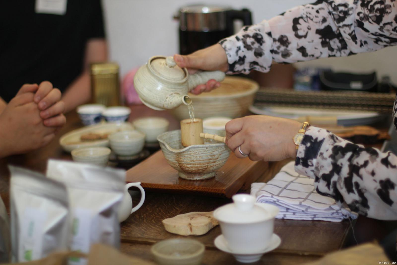 Verkostung von Tscharanas Tees