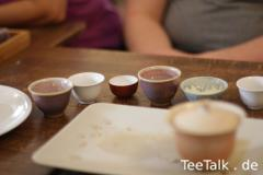 Stilleben mit Teetassen