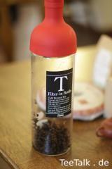 Die schöne Kaltaufguss-Flasche