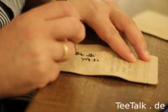 Kalligraphie-Autogrammstunde
