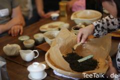 Verkostung des Tscharana-Tees