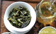 Tenfu Tieguanyin - Aufgegossenes Blatt