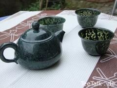 Teekanne aus Taiwanese Black Jade
